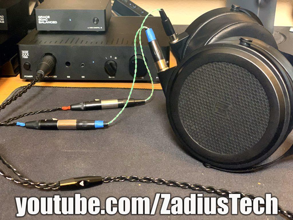 Monoprice M1570 to Audeze Balanced cable adapter